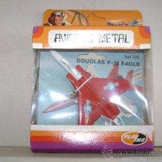 Modelos a escala: AVION DE METAL PLAYME.DOUGLAS F-15 EAGLE.REFª126.EN SU CAJA. Lote 53456238
