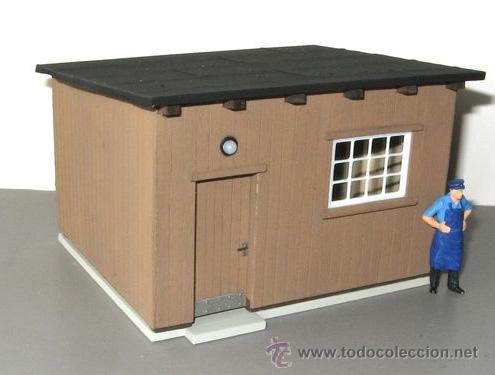 Peque a oficina caseta de obra caseta de vi comprar modelos a escala en todocoleccion - Oficina de obra ...