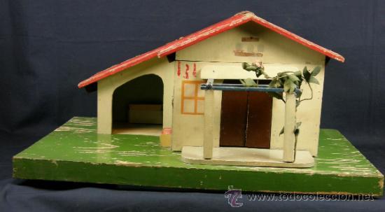 Maqueta juguete casa de campo en madera policro comprar modelos a escala en todocoleccion - Casas de madera para el campo ...