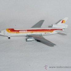 Modelos a escala: AVION SCHABAK DOUGLAS DC-10 IBERIA ESCALA 1:600 MADE IN GERMANY. Lote 52862670