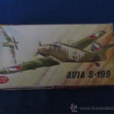 Modelos a escala: M69 MAQUETA KP PLATIKOVY MODEL AVIA S199. Lote 37839361