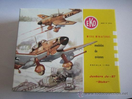 Modelos a escala: EKO AVION, JUNKERS JU-87 STUKA, ESCALA 1:150 - Foto 3 - 37847576