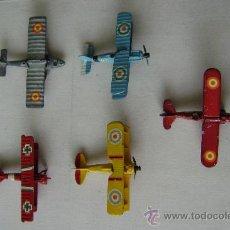 Modelos a escala: CINCO AVIONES PLAYME. Lote 38763483