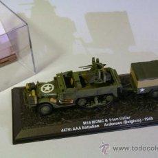 Modelos a escala: IXO ALTAYA. TANQUE - CARRO. ESCALA 1/72.M16 MGMC & 1 TON TRAILER . Lote 38912241