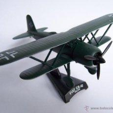 Modelos a escala: AVION FIAT CR42 FALCO DEL PRADO METAL. Lote 171139285