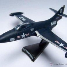 Modelos a escala: AVION F9F PANTHER DEL PRADO METAL. Lote 88299087