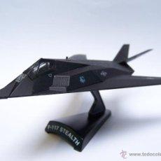 Modelos a escala: AVION F117 STEALH DEL PRADO METAL. Lote 125026608