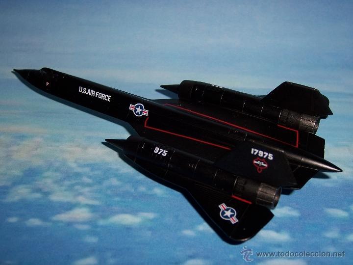 AVION SR 71 BLACKBIRD DEL PRADO METAL (Juguetes - Modelos a escala)