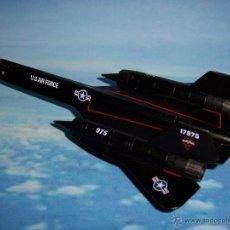 Modelos a escala: AVION SR 71 BLACKBIRD DEL PRADO METAL. Lote 146679617