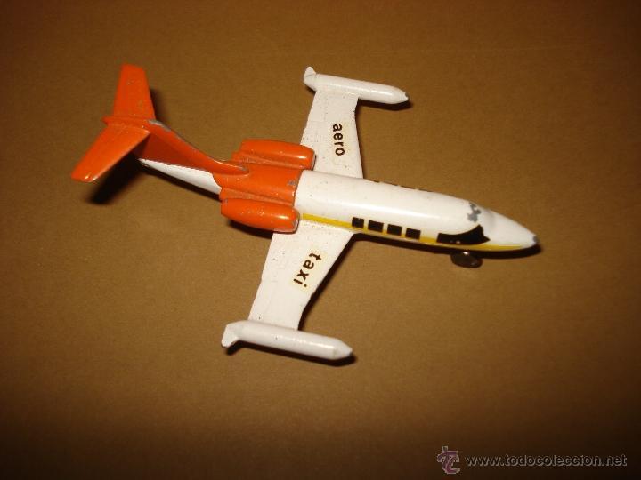 Modelos a escala: Antigua Avion LEAR JET 36 de Juguetes PILEN Año 1970s - Foto 2 - 39962372