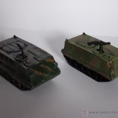 Modelos a escala: LOTE DE 2 TOA/CARROS DE COMBATE ANTIGUO AÑOS 60 A 70 AIRFIX POLY VEHICLES - U.S M113 - MADE IN U.K. Lote 40789854