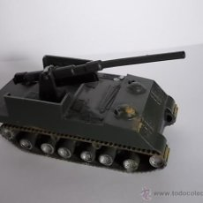 Modelos a escala: LOTE CAÑON AUTOPROPULSADO M40 155 MM - ANTIGUO AÑOS 60 A 70 AIRFIX POLY VEHICLES - MADE IN U.K. Lote 40789894