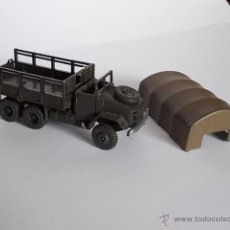 Modelos a escala: LOTE MAQUETA/ CAMION M-34 CONTINENTAL ANTIGUO AÑOS 70 - DBGM ROCO - H0 MADE IN AUSTRIA. Lote 40794294