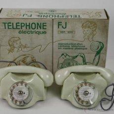 Modelos a escala: TÉLÉPHONE ÉLECTRIQUE - FRANCE JOUETS - PLÁSTICO - AÑOS 60/70. Lote 41337816