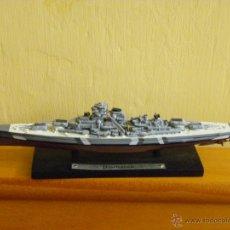 Modelos a escala: BARCO GERMAN BATTLESHIP BISMARCK. Lote 41616782