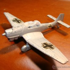 Modelos a escala: AVION ANTIGUOS A ESCALA EN METAL PLAYME TIPO STUKA. Lote 42083204