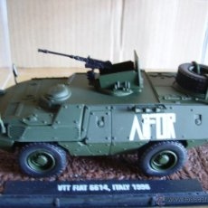 Modelos a escala: ATLAS ----TANQUE VEHICULO MILITAR VTT FIAT 6614,ITALY 1996. Lote 42196581