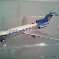 Modelos a escala - SCHUCO AVIÓN BOEING 727 LUFTHANSA 7X6 CM . - 43397414