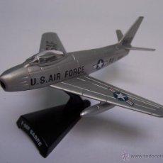 Modelos a escala: AVION F 86F SABRE DEL PRADO METAL. Lote 45076221