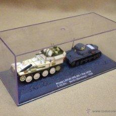 Modelos a escala: VEHICULO MILITAR ALEMAN, KREPP L2H143 + PAK 35/36, BERLIN 1938, EN SU VITRINA. Lote 45926116
