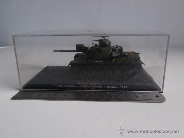 Modelos a escala: TANQUE: M48 A3 Patton, 1 Tank Battalion - USMC- Danang - Vietnam - 1968 - Foto 4 - 47944421