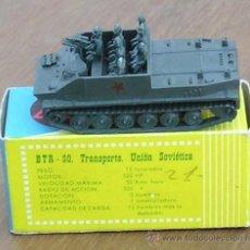 Modelos a escala: EKO BLINDADO BR-50 SOVIETICO. Lote 83366696