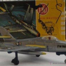 Modelos a escala: EKO AVIÓN F-84-F, CAZA DE LOS AÑOS 50. Lote 49001453