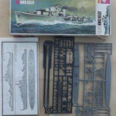 Modelos a escala: DESTRUCTOR HMS KELLY DE MATCHBOX. Lote 49012797