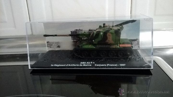 TANQUE AMX AU F 1 ALTAYA ATICULADO ESCALA 1/72 (Juguetes - Modelos a escala)