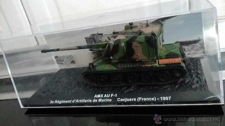 Modelos a escala: tanque amx au f 1 altaya aticulado escala 1/72 - Foto 2 - 111409295