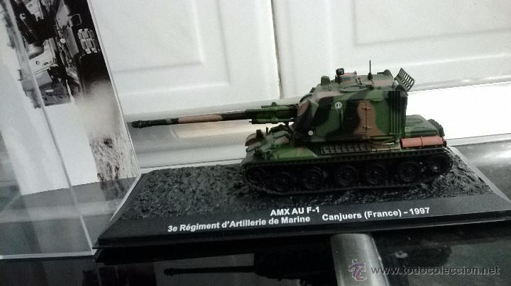 Modelos a escala: tanque amx au f 1 altaya aticulado escala 1/72 - Foto 4 - 111409295