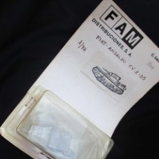 Modelos a escala: AÑOS 70 FIAT ANSALDO GUERRA CIVIL METAL 1:72. Lote 50931000