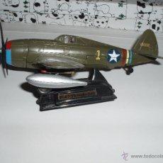 Modelos a escala: AVION DE COMBATE MILITAR II GUERRA MUNDIAL ESCALA P-47 THUNDERBOLT METAL. Lote 51775133