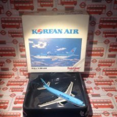 Modelos a escala: AVION AIRBUS A-300-600 KOREAN AIR (HERPA WINGS). Lote 52742532