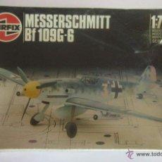 Modelos a escala: MAQUETA MESSERSCHMITT BF 109G-6, ESCALA 1:72, AIRFIX, EN CAJA. CC. Lote 53426585