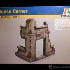 Modelos a escala: HOUSE CORNER ITALERI REF 6413. Lote 54640316