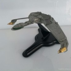 Modelos a escala - NAVE ESPACIAL A ESCALA EN METAL KLINGON CRUISER - STAR TREK - 1992 - THE FRANKLIN MINT - 57704982