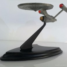 Modelos a escala - NAVE ESPACIAL A ESCALA EN METAL STARSHIP ENTERPRISE - STAR TREK - 1988 - THE FRANKLIN MINT - 57705172