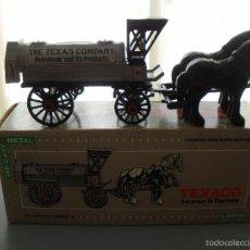 Modelos a escala: HUCHA METAL TEXACO, CAMION HORSE TANKER 1900, EDICION LIMITADA Y NUMERADA, NUEVA. Lote 59682415