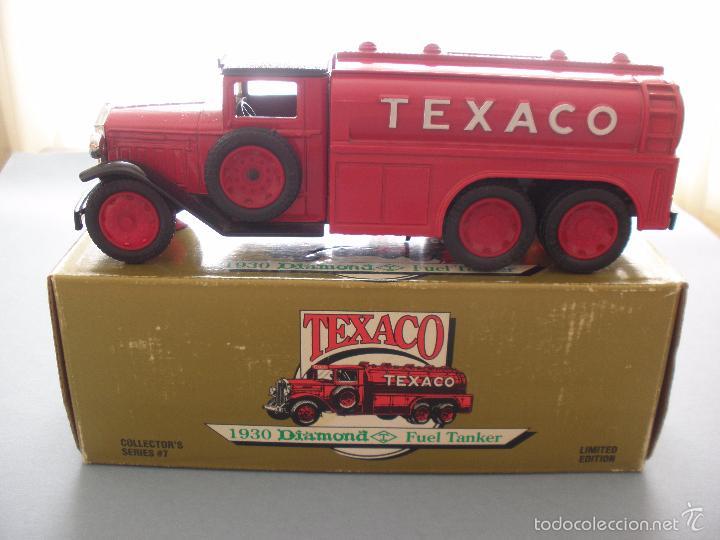 HUCHA METAL TEXACO, CAMION DIAMOND TANKER 1930, EDICION LIMITADA Y NUMERADA, MADE IN USA, NUEVO (Juguetes - Modelos a escala)