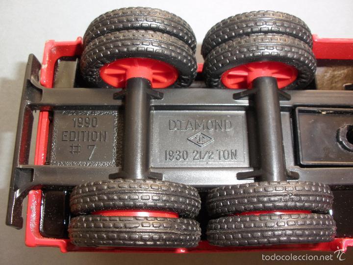 Modelos a escala: HUCHA METAL TEXACO, CAMION DIAMOND TANKER 1930, EDICION LIMITADA Y NUMERADA, MADE IN USA, NUEVO - Foto 6 - 59682423