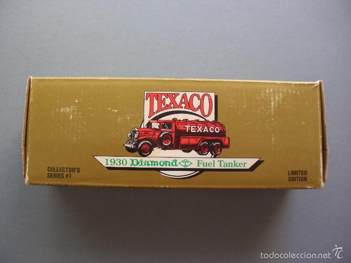 Modelos a escala: HUCHA METAL TEXACO, CAMION DIAMOND TANKER 1930, EDICION LIMITADA Y NUMERADA, MADE IN USA, NUEVO - Foto 7 - 59682423