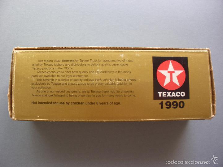 Modelos a escala: HUCHA METAL TEXACO, CAMION DIAMOND TANKER 1930, EDICION LIMITADA Y NUMERADA, MADE IN USA, NUEVO - Foto 8 - 59682423