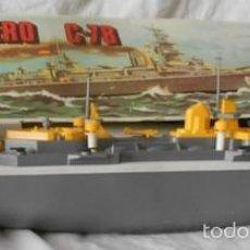 Modelos a escala: CRUCERO C-78, RANETTA. Lote 61121991