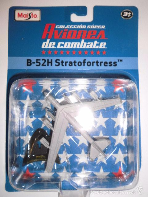 Modelos a escala: REPLICA AVION DE COMBATE- B-52H STRATOFORTRESS - NUEVO EN CAJA ORIGINAL - Foto 2 - 61278803