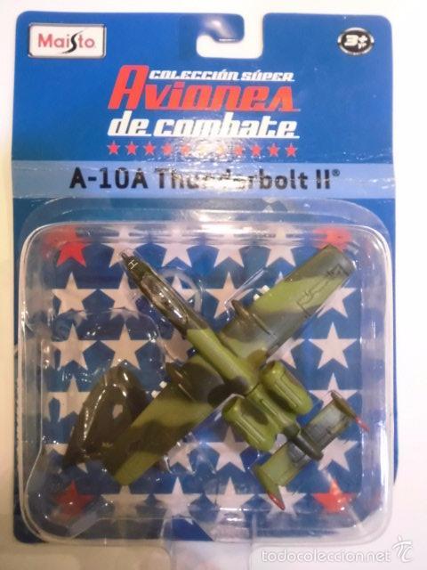 Modelos a escala: REPLICA AVION DE COMBATE- A-10A THUNDERBOLT II - NUEVO EN CAJA ORIGINAL - Foto 2 - 61278911