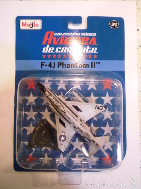Modelos a escala: REPLICA AVION DE COMBATE- F-4J PHANTOM II - NUEVO EN CAJA ORIGINAL - Foto 2 - 61279259