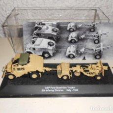 Modelos a escala: CMP FORD QUAD GUN TRACTOR 5TH INF.DIV. USA - ITALY 1943 - ALTAYA ESCALA 1/72 TANQUE BLINDADO. Lote 62565600