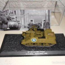 Modelos a escala: M7 105 MM HMC PRIEST TANQUE EJERCITO USA (SICILIA) 1943 CARRO BLINDADOS ALTAYA 2ª GUERRA MUNDIAL. Lote 62566900