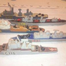 Modelos a escala: 5 BARCOS MATCHBOX SEA KINGS. Lote 68333169